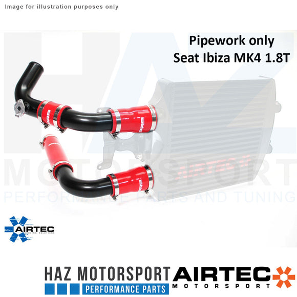 AIRTEC INTERCOOLER PIPEWORK ONLY POLO GTI IBIZA MK4 1.8 T Pro-Series Satin Black
