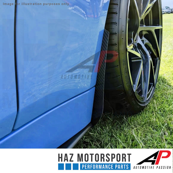 AP Design Front & Rear Carbon Arch Guards/Mud Flap Package - BMW M3 F80
