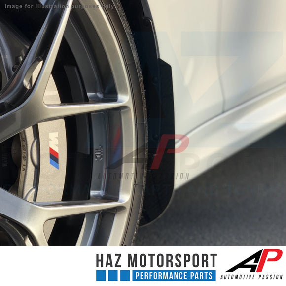AP Design Front & Rear Carbon Arch Guards/Mud Flap Package - BMW M4 F82 F83