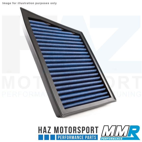 MMR Blue Cotton Panel Air Filter - Mini Cooper S / JCW F56 2013-2019