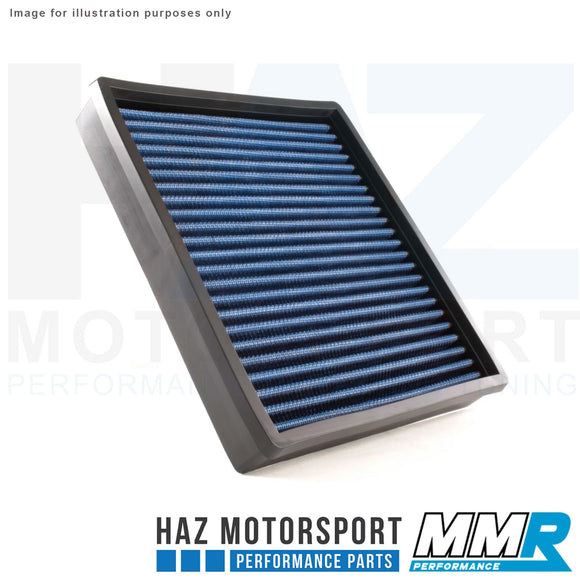 MMR Blue Cotton Panel Air Filter - BMW M2, M135i, M235i, 335i, 435i N55 F-Series