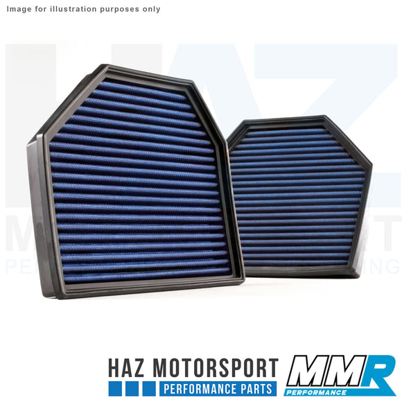 MMR Blue Cotton Panel Air Filter - BMW M2c, M3, M4, F10 M5, M6 F13 S55/S63
