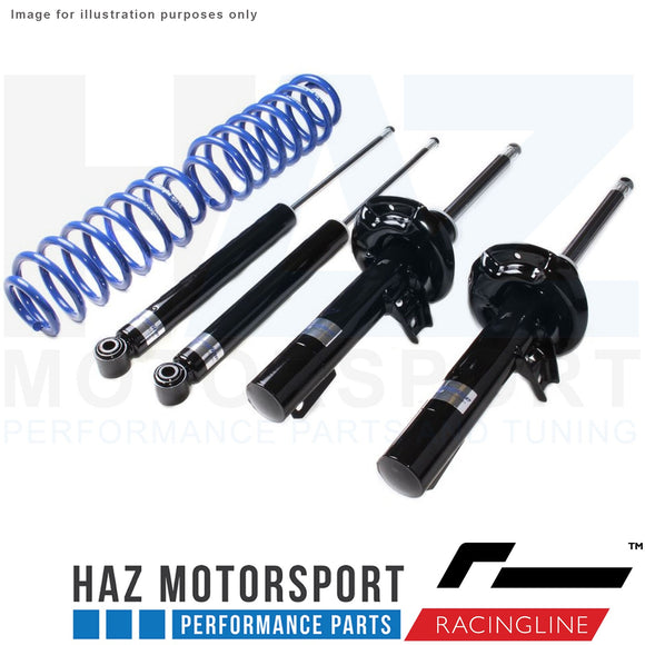 VWR Sports Shock Absorbers And Lowering Springs Kit Vw Golf Mk5 R32 MK6 R R20