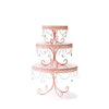 Chandelier Loopy Cake Plate Set