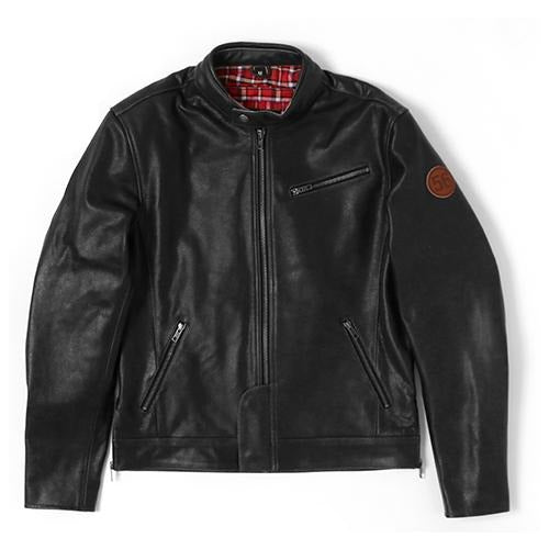 56 R-Line Cafe Leather Jacket