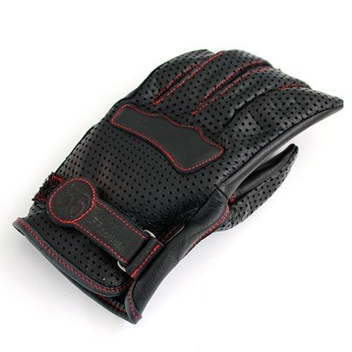 Mesh Leather Gloves