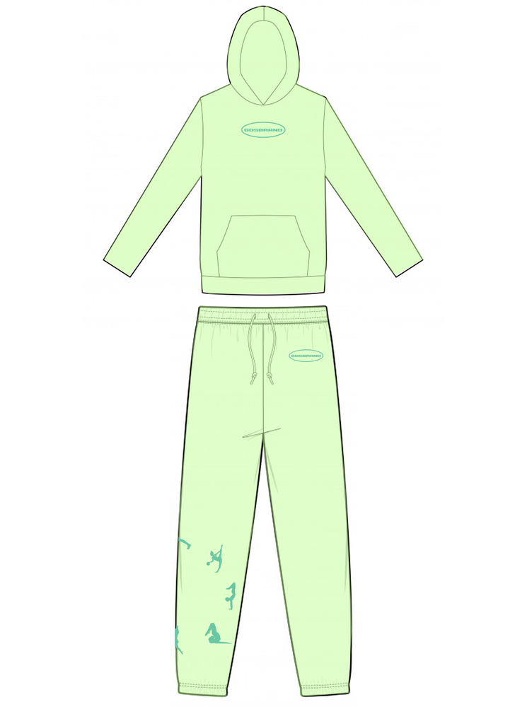 MINT YOGA-RING TRACKSUIT