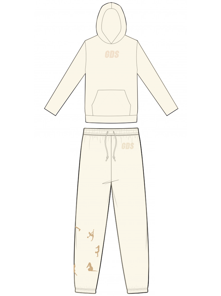 CREAM YOGA RING TRACKSUIT
