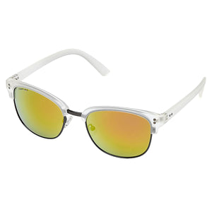 Fastrack C088RD3 Club Master Sunglasses Size - 54 White / Red Mirrored