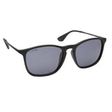 Fastrack C103BK1P Square Polarized Sunglasses Size - 54 Black / Black