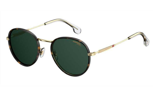 Carrera CA-151S-PEF-QT-52 Round Sunglasses Size - 52 Gold / Green
