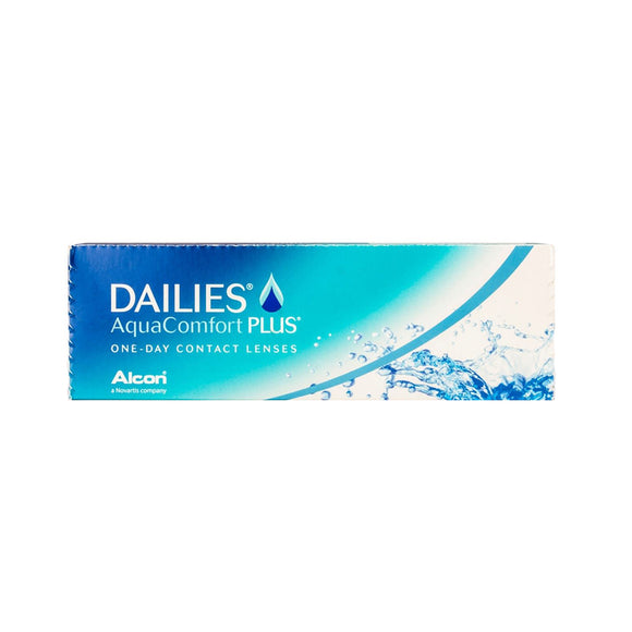 Alcon DAILIES Aqua Comfort Plus Daily Disposable Contact Lenses (30 lens / Box)