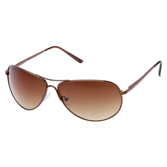 Fastrack M050BR5 Aviator Sunglasses Size - 64 Brown / Brown