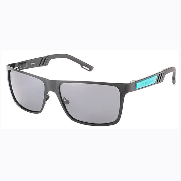 Fastrack M101BK1P Rectangle Polarized Sunglasses Size - 57 Black / Black