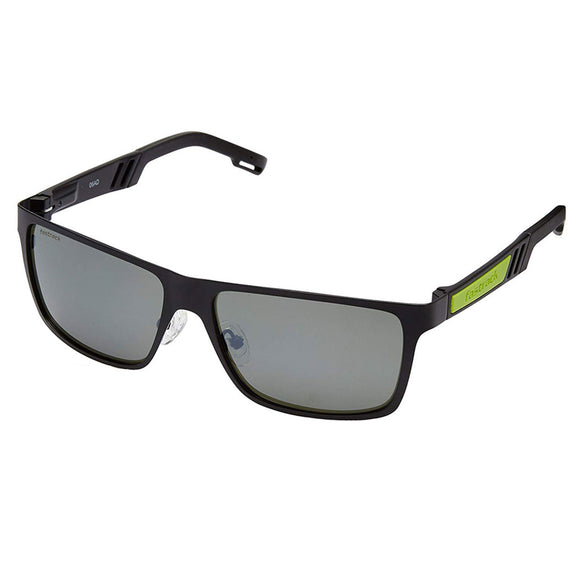 Fastrack M101GR2 Rectangle Sunglasses Size - 57 Black / Green