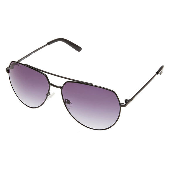 Fastrack M171BK1 Aviator Sunglasses Size - 60 Black / Grey