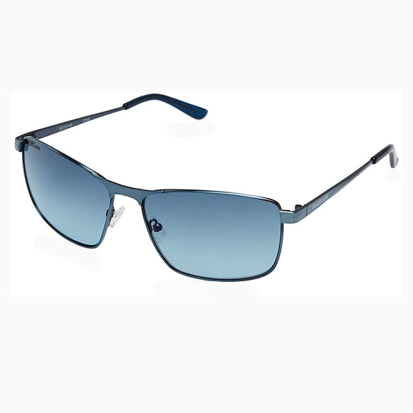 Fastrack M189BU1 Rectangle Sunglasses Size - 59 Black / Blue
