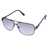 Fastrack M197BU1 Rectangle Sunglasses Size - 58 Black / Blue