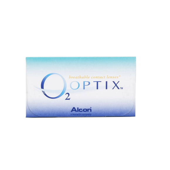 Alcon O2 OPTIX Monthly Disposable Contact Lenses (6 lens / Box)