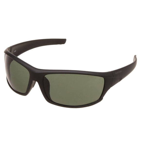 Fastrack P223GR1 Wraparound Sunglasses Size - 66 Black / Green