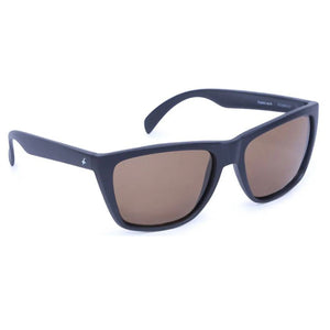 Fastrack P230BR4P Wayfarer Polarized Sunglasses Size - 57 Black / Brown