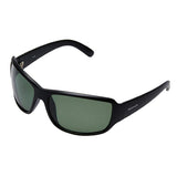 Fastrack P294GR4P Sports Polarized Sunglasses Size - 63 Black / Green