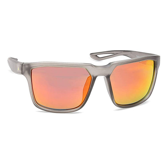 Fastrack P409RD3 Square Sunglasses Size - 55 Grey / Red