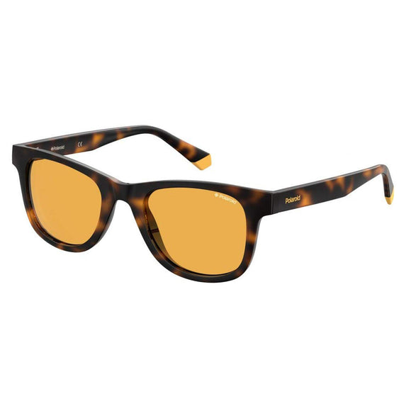 Polaroid PLD-1016S/NEW-HJV-HE-50 Wayfarer Sunglasses Size -50 Tortoise / Brown