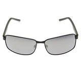 Polaroid PLD-2045S-003-LM-63 Rectangle Sunglasses Size - 63 Black / Grey