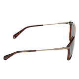 Polaroid PLD-2060S-IPR-XN-56 Rectangle Sunglasses Size - 56 Brown / Blue