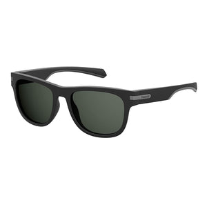 Polaroid PLD-2065S-003-M9-54 Square Sunglasses Size - 54 Black / Green
