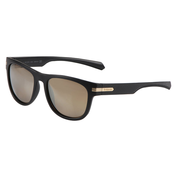 Polaroid PLD-2065S-I46-LM-54 Wayfarer Polarized Sunglasses Size - 54 Black / Brown