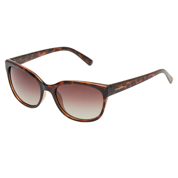 Polaroid PLD-4030S-Q3V-LA-55 Cat-eye Sunglasses Size - 55 Tortoise / Brown