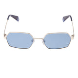 Polaroid PLD-6068S-LKS-XN-56 Hexagon Sunglasses Size - 56 Gold / Blue