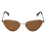Polaroid PLD-6071/S/X-J5G-SP-56 Cat-eye Sunglasses Size - 56 Gold / Brown