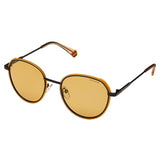 Polaroid PLD-6114S-40G-HE-51 Round Sunglasses Size - 51 Yellow / Brown