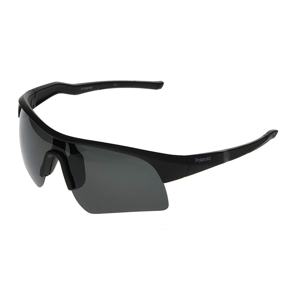 Polaroid PLD-7024S-003-M9-99 Sports Polarized Sunglasses Size -99 Black / Black