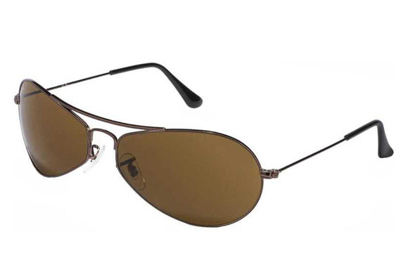 Ray-Ban RB-3306I-014-60 Oval Sunglasses Size - 60 Brown / Brown