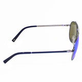 Tommy Hilfiger TH-2552-C2-58 Aviator Sunglasses Size - 58 Gunmetal / Blue