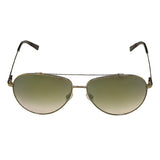 Tommy Hilfiger TH-2553-C3-62 Aviator Sunglasses Size - 62 Gold / Green