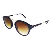 Tommy Hilfiger TH-7975-C3-50 Round Sunglasses Size - 50 Black / Brown