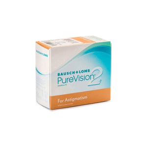 Bausch & Lomb PureVision2 For Astigmatism Monthly Disposable Toric Contact Lenses (6lenses / Box)