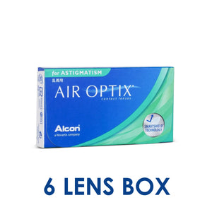 Alcon AIR OPTIX For Astigmatism Monthly Disposable Toric Contact Lenses (6 lens / Box)
