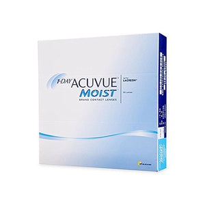 Johnson & Johnson ACUVUE Moist Value Pack Daily Disposable Contact Lenses (90 lens / Box)