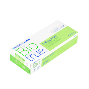 Bausch & Lomb BioTrue ONEday Daily Disposable Contact Lenses (30 lenses / Box)