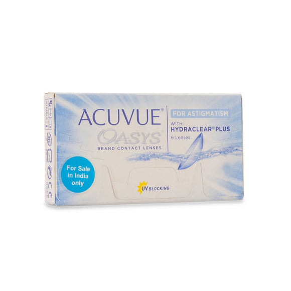 Johnson & Johnson ACUVUE OASYS For Astigmatism (14 Days) Bi-Weekly Disposable Toric Contact Lenses (6 lens / Box)