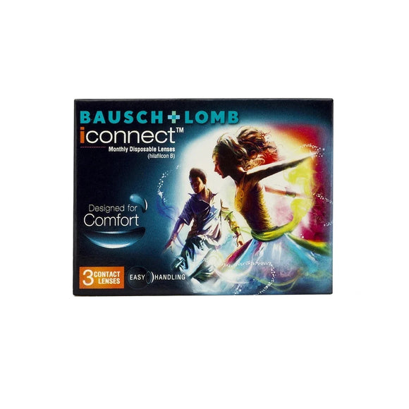 Bausch & Lomb iConnect Monthly Disposable Contact Lenses (3 lens / Box)