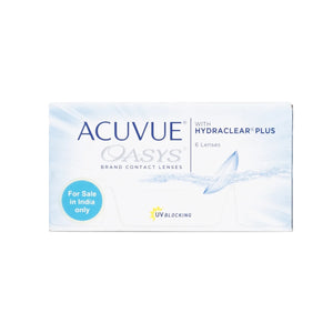 Johnson & Johnson ACUVUE OASYS (14 Days) Bi-Weekly Disposable Contact Lenses (6 lens / Box)