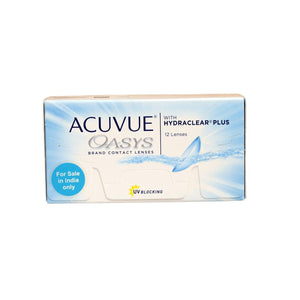 Johnson & Johnson ACUVUE OASYS Value Pack (14 Days) Bi-Weekly Disposable Contact Lenses (12 lens / Box)