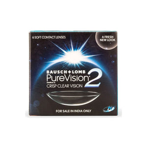 Bausch & Lomb PureVision2 HD Monthly Disposable Contact Lenses (6lenses / Box)